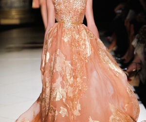 elie saab, dress, and fashion image