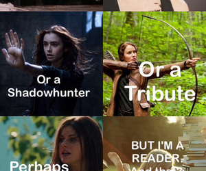 divergent, book, and reader image