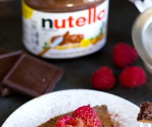 chocolate, nutella, and cake image