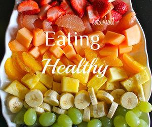 healthy, fruit, and banana image