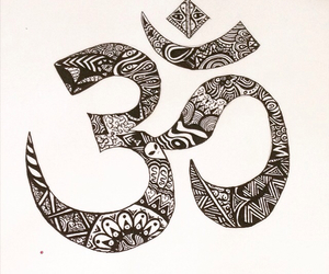 drawing, meditation, and peace image