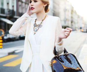 fashion, hair, and Louis Vuitton image