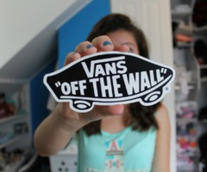 vans, quality, and sticker image