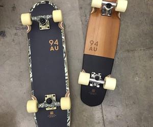 skateboard, summer, and pennyboard image