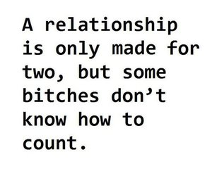 bitch, Relationship, and quotes image