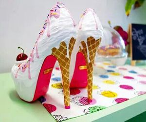 shoes and ice cream image