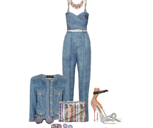 accessories, outfit, and heels image