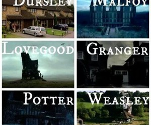 harry potter, granger, and dursley image