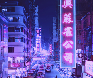 city and neon image