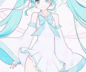 hatsune miku, vocaloid, and anime girl image