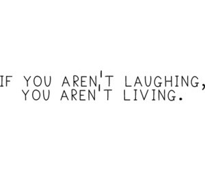 laugh and live image