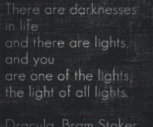 bram stoker, Dracula, and lights image