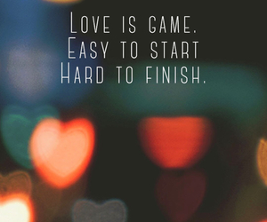 love, quotes, and game image