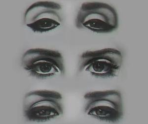 lana del rey, eyes, and drawing image