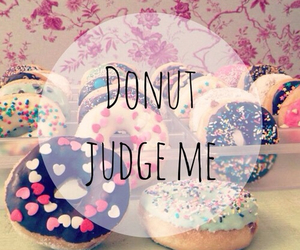 donut, food, and life image