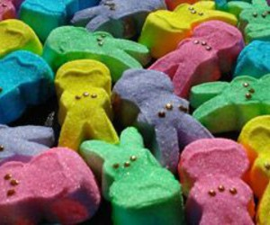 candy, marshmallow, and easter image