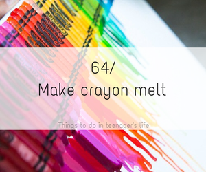 melt, art, and colors image