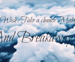be free, clouds, and breakaway image