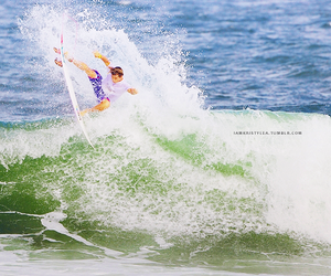 quiksilver, surf, and surfboard image
