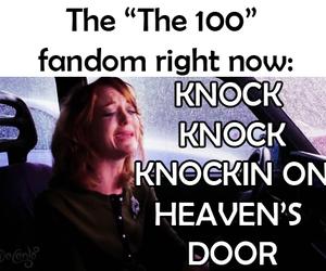 the 100, bellarke, and fandom image