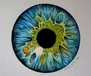 eye, blue, and draw image
