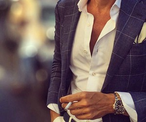 fashion, men, and style image