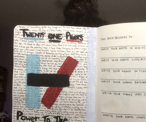 painting, WTJ, and twenty one pilots image