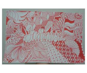 artwork, zentangle, and weheartit image