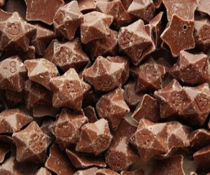 chocolate, food, and stars image