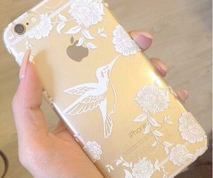 iphone, gold, and case image