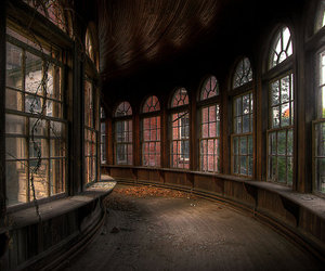 abandoned, photography, and architecture image