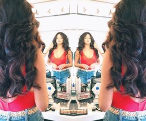 selena gomez, hair, and Hot image
