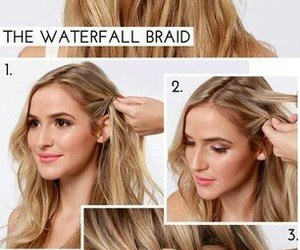 hairstyle, tutorial, and hair image