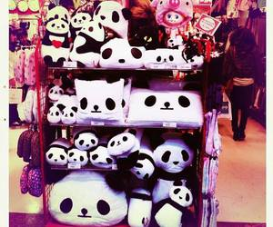 panda, kawaii, and cute image