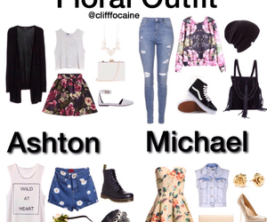 fashion, michaelclifford, and floral image