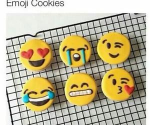 Cookies, emoji, and cute image