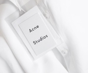 white, acne, and acne studios image