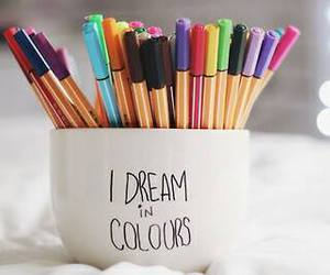 Dream, colors, and color image