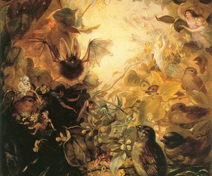 art, faeries, and painting image