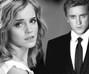 tom felton, dramione, and emmawatson image