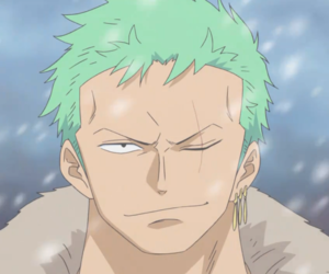 anime, one piece, and zoro image
