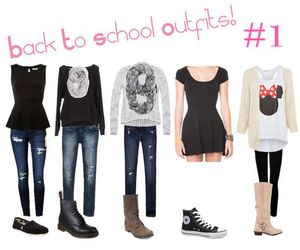 hipster, school, and oufits image