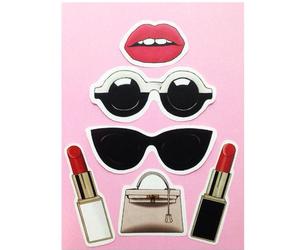 chanel sunglasses, Lipsticks, and sunglasses image