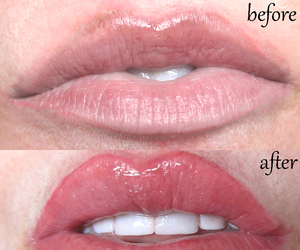 lip makeup, makeup step by step, and permanent lip image