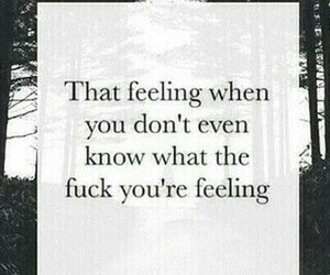 feeling, quote, and sad image