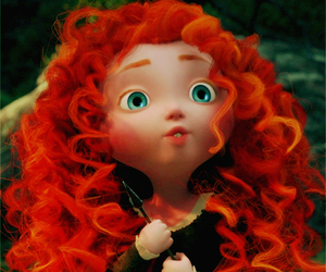 brave, disney, and cute image