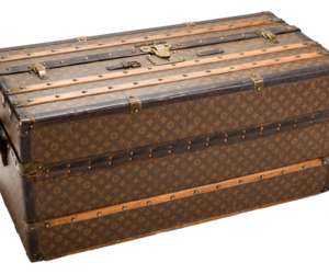 Louis Vuitton, trunk, and louis vuitton trunk image