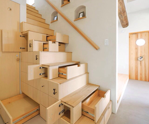stairs, home, and design image