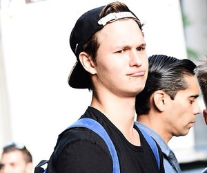 ansel elgort and ansolo image