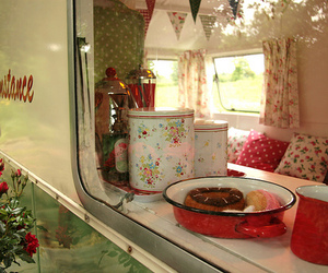 cath kidston, red, and retro image